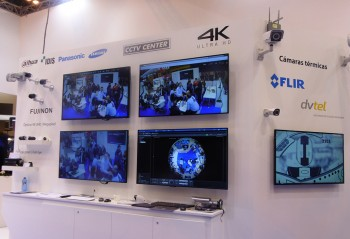 Centre de CCTV Panasonic SICUR 2016