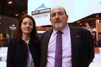 Panasonic Juan Cabrera y CCTV Center Marta SICUR2016
