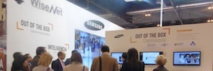 Cameras WiseNet HD +-centric proposal from Samsung Techwin SICUR 2016