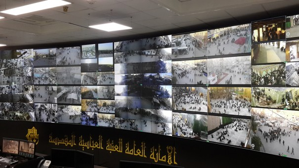 Videowall eyevis in control center Al - to Al - Attaba Abbasiya in Karbala