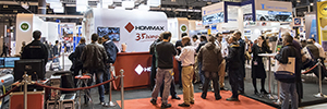 The relationship with the customer was the maximum premise of Hommax in SICUR 2016