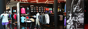Innovasport optimizes the safety in the 69 with IP video surveillance solution chain stores