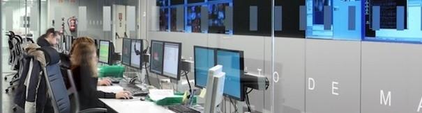 Metro de Madrid centro control