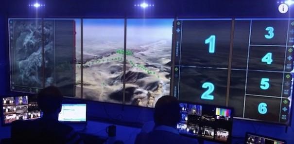 Defex Idom Virtualware centro control Egipto