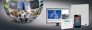Risco ProSYS плюс: гибридные системы безопасности с виртуальным масштабируемость для коммерческих и промышленных установок