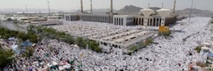 The pilgrimage to Mecca this year will feature thousand new cameras and electronic identification bracelets