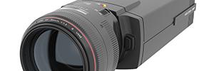 Axis Q1659: cámara fija de videovigilancia con objetivos Canon para grandes espacios