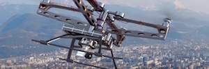 Europe performs the first test of management of traffic based on drones and the solution UTM of Nokia