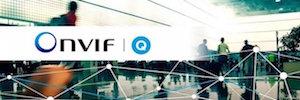 Configuração rápida e avançada com funções de segurança Onvif perfil Q