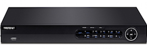 TRENDnet presents with eight channels of high-definition TV-NVR208 VCR