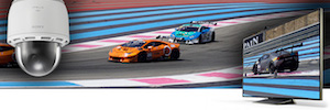 The technology of Sony helps to protect and enjoy of them racing at the circuit Paul Ricard