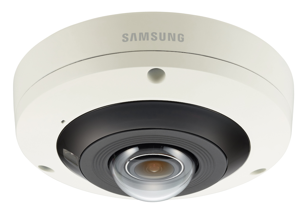 Samsung Wisenet 4K PNF-9010R: camera eye of fish 360 ° and