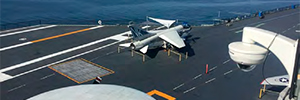 The USS Midway in San Diego Museum updates its infrastructure of surveillance with Vivotek