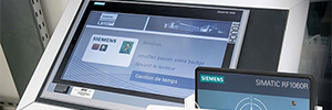 Siemens simplifies access control in industrial environments with a RFID system