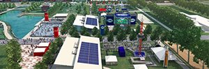 La ciudad de Houston despliega una infraestructura de videovigilancia IP para garantizar la seguridad durante la Super Bowl Live