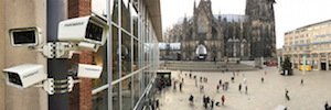 Dallmeier designed an innovative system of video surveillance of public space for the city of Cologne