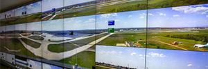 Searidge utilisé des caméras Bosch dans leur solutions de contrôle de l'aéroport