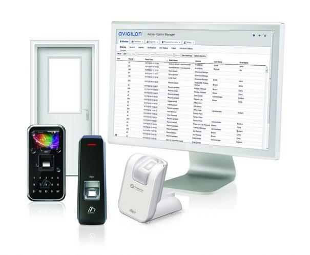 Avigilon ACM se integra con biometria Virdi
