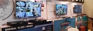 Uniview presenta en Europa sus últimos sistemas de videovigilancia IP para mercados verticales