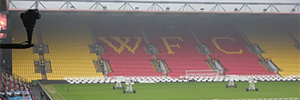 The Watford Football Club invests in a CCTV system which includes 70 IP cameras