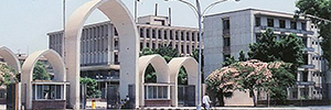 Scati installed an IP CCTV system in a prestigious University of Egypt