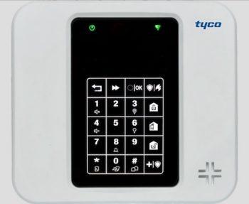 Pannello di smartalarm Tyco