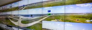 Searidge utiliza las soluciones de videovigilancia para optimizar las operaciones y eficiencia de los aeropuertos