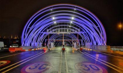 Bosch securiza tunel Eurasia