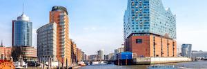 Более трех сотен режиме IP-камер защищать Elbe филармония в Гамбурге