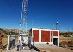 Dahua station base Pérou