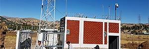 Дахуа решения защиты развернутых оборудования для расширения охвата сети Интернет в Перу
