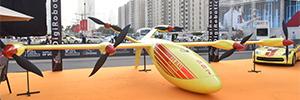 Protección Civil de Dubai muestra como responden los drones a situaciones de emergencia y vigilancia