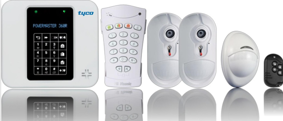 tyco presents a new security with intelligent control panel