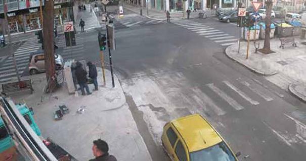 Panasonic seguridad urbana Bari