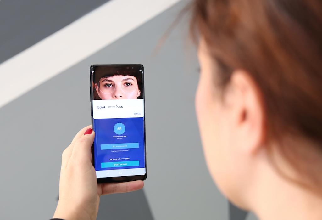 BBVA incorporates Samsung biometric authentication for mobile