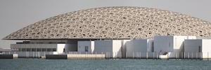 Du Musée du Louvre Abou Dhabi s'appuie sur des systèmes Davantis pour assurer la sécurité