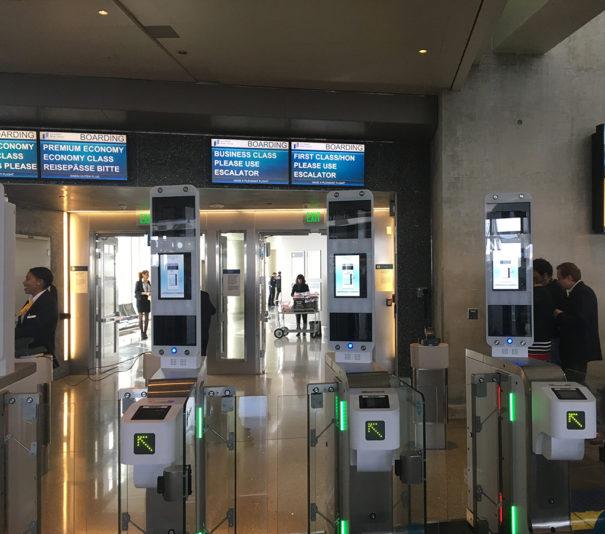 Lufthansa sistema de embarque biometrico