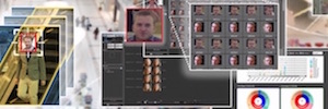 Panasonic integrates face recognition with the of IP video surveillance software