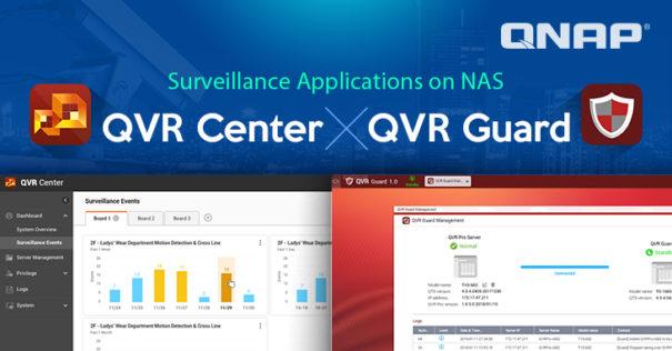Qnap QVR Center y QVR Guard