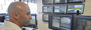 ViewSonic screens monitor the Montevideo football stadiums video surveillance system