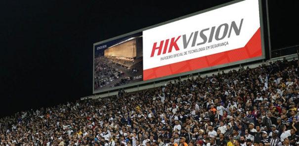 Hikvision en estadio Corinthians