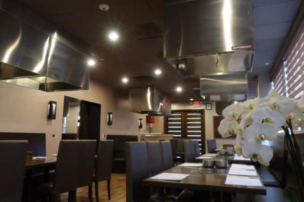 Vivotek en restaurante Jang Su Jang