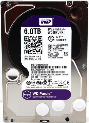 Western Digital Purple surveillance