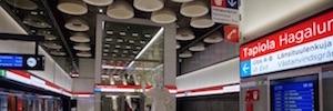 Metro de Helsinki instala sistemas de megafonía y evacuación por voz de Bosch Security