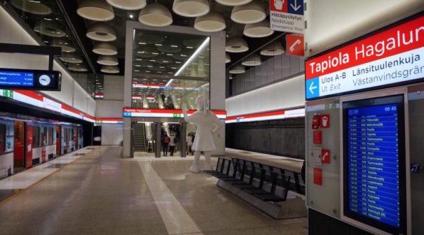 Metro Helsinki Bosch Security