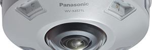 Panasonic WV-X4571L: cámara domo antivandálica de 360º para entornos críticos