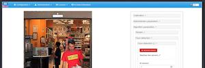 Conteo de personas, supervisión de colas y analítica con Wisenet Biometrics & Retail