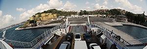 Las cámaras Wisenet mantienen la seguridad de los viajeros en el ferri de Estambul