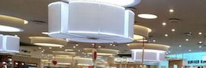 El centro comercial Río Shopping de Valladolid renueva el sistema de megafonía y evacuación por voz