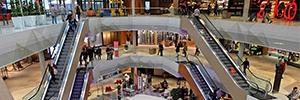 El Mall of Switzerland instala una solución integral de control de accesos de Bosch